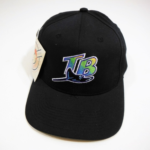 3e27ee5322f NWT MLB Vintage 90s Tampa Bay Devil Rays Hat Cap